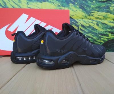 Мужские кроссовки Nike Air Max 95 Tn Plus all black Кроссовки Nike Air Max  95. 806a799e1554e
