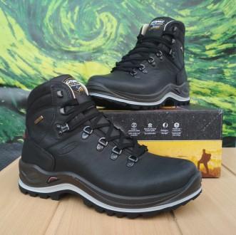 Ботинки мужские Grisport 13701 O39tn черные. Запорожье. фото 1