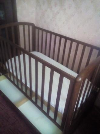 ліжечко дитяче з шухлядкою. Ивано-Франковск. фото 1