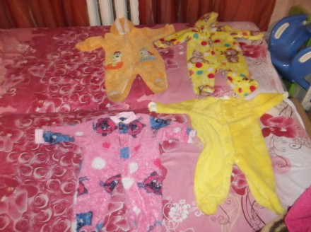 Продам теплые детские человечки. Кривой Рог. фото 1