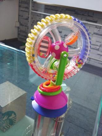 +4м Развивающая игрушка на присоске, координация рук и глаз для малыша. Житомир. фото 1