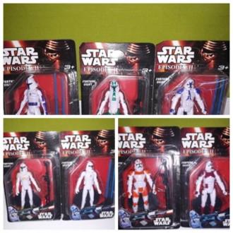 Супергерой Star Wars, свет, подвижные руки и ноги, на листе, в наличии 5 видов. Миргород. фото 1