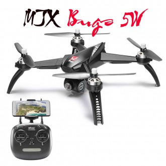 Квадрокоптер MJX Bugs B5W с GPS и FullHD WI-FI камерой. Харьков. фото 1