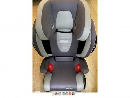 RECARO Monza Nova (Seatfix,ізофікс) б/у, гарн.стан, Київ,з 3 до 12 років, зріст:. Киев. фото 1