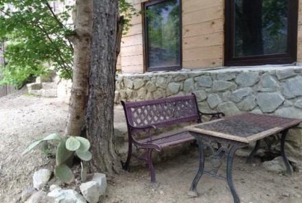 Продается участок 7сот. с ведущимся строительством шале в горах. С террас, балко. Ялта, Ялта, Крым. фото 8