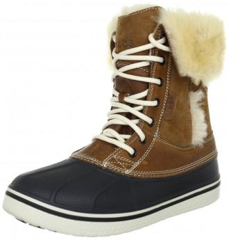 Зимние ботинки crocs раз. US5 и US6 (наш полный 35 и 36). Киев. фото 1