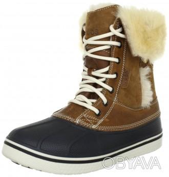 Зимние ботинки crocs Women´s AllCast Luxe Duck Boot     Оригинал из Америки ра. Киев, Киевская область. фото 1