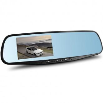 Зеркало заднего вида видеорегистратор DVR 138 Full HD. Одесса. фото 1