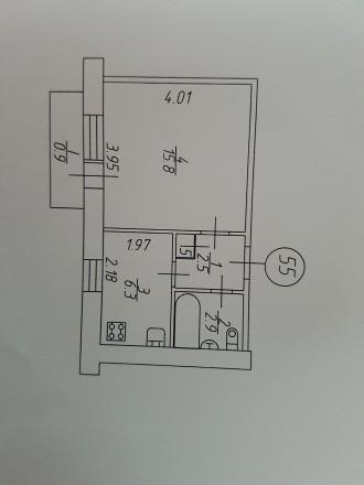 Однокомнатная квартира в малосемейке, омен или продажа.. Чернигов. фото 1