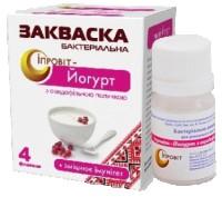Бактериальная закваска Ипровит. Ипровит-йогурт с ацидофильной палочкой. Киев. фото 1