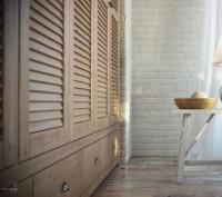 Жалюзийные дверки, мебельные фасады из натурального дуба и ясеня Изготовление н. Киев, Киевская область. фото 2