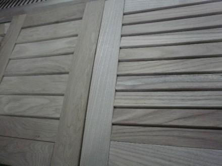 Жалюзийные дверки, мебельные фасады из натурального дуба и ясеня Изготовление н. Киев, Киевская область. фото 3