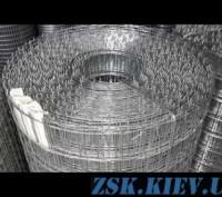 Сетка сварная оцинкованная 20х20х1.6мм. Київ. фото 1