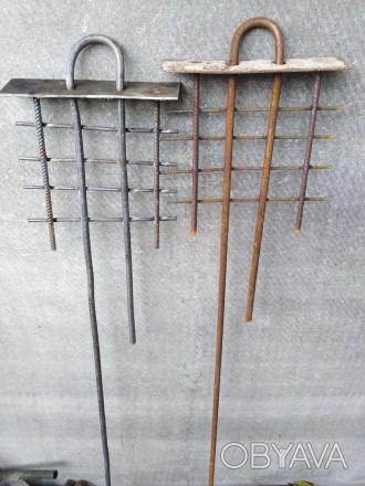 Производим и реализуем опт и розница петля стальная подъёмная для ЖБИ конструкци. Днепр, Днепропетровская область. фото 1