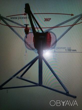 """Электролебедка """"Пионер"""" пр. Испания """"САМАС"""" незаменимый помощник для строителей,. Бровары, Киевская область. фото 1"""
