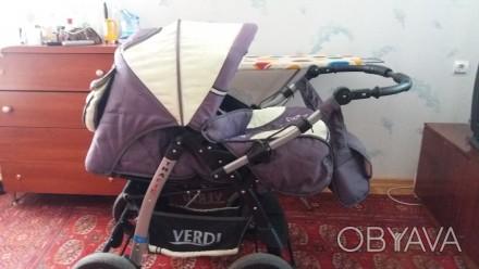 коляска зима-лето в хорошем состоянии. Подходит как для мальчика так и для девоч. Одесса, Одесская область. фото 1