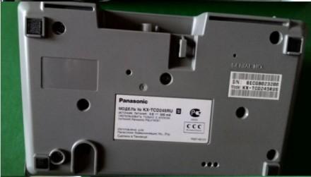 Новый Panasonic KX-TCD245 с Автоответчиком. Общие характеристики: Комплектация. Каменское, Днепропетровская область. фото 6