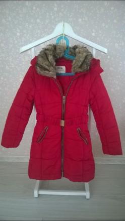 Продається червона курточка Mayoral для дівчинки!. Львов. фото 1