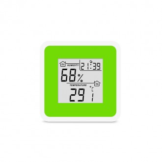 Термо-гигрометр цифровой с часами Т-07. Запорожье. фото 1