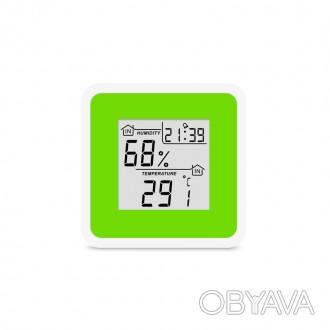 Применяется для измерения температуры и влажности воздуха в помещении, контроля . Запорожье, Запорожская область. фото 1