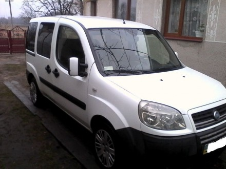 Продам FIAT DOBLO 2006 р.в. Броды. фото 1