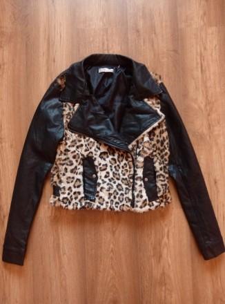 Куртка косуха Oxygene. Львов. фото 1