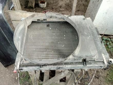 Продам диффузор радиатора вентилятора Mercedes E-Class W210 A2105052355. Чернигов. фото 1