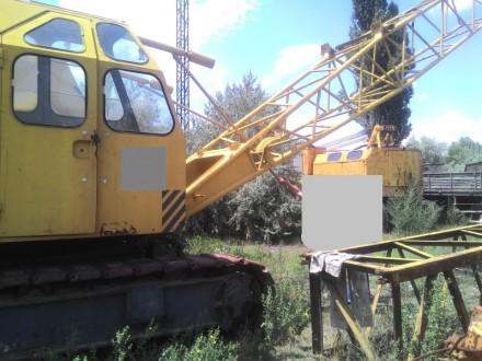 Продаем гусеничный кран RDK-250-3 TAKRAF, 25 тонн, 1990 г.в.. Киев. фото 1
