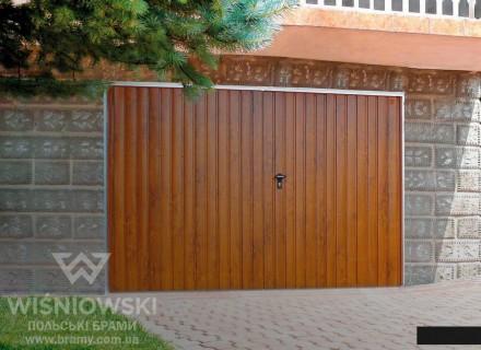 Распашные гаражные ворота от Wisniowski. Львов. фото 1