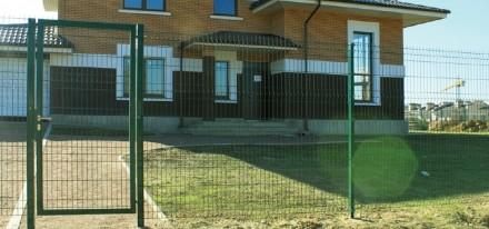 Ворота из сетки Классик H-1м, L-4м. Киев. фото 1