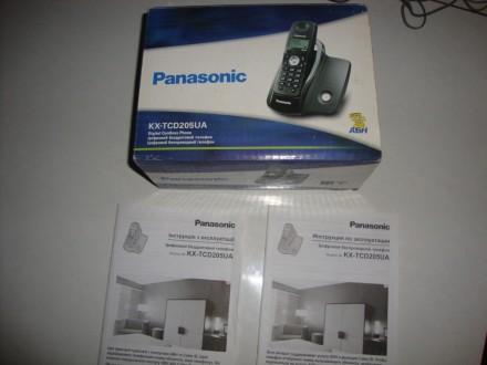 Радиотелефон Panasonic KX-TCD205UA. Котовск. фото 1