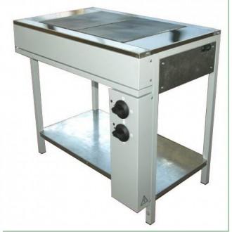 Плита кухонная промышленная ЭПК-2Б. Днепр. фото 1