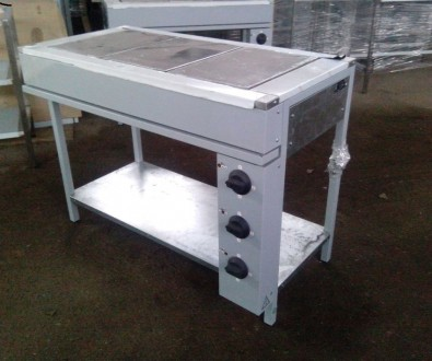 Плита электрическая кухонная ЭПК-3Б. Днепр. фото 1