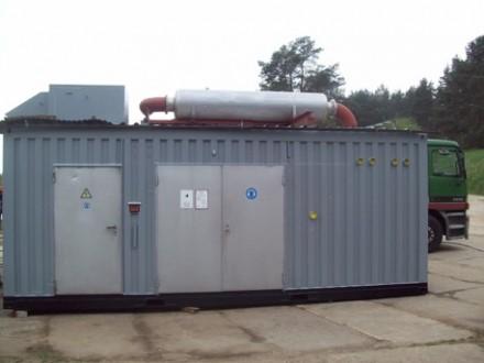 Электрогенератор дизельный в контейнере MTU 800 kW / 1000 KVa  Б/У. Киев. фото 1