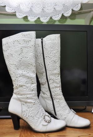 Предлагаю вашему вниманию красивые качественные сапоги Madiro из натур. плотной . Черновцы, Черновицкая область. фото 5