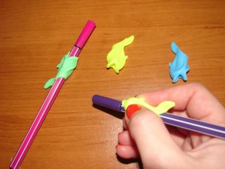 Тренажер для письма, ручка-самоучка. Учимся играя. Сумы. фото 1