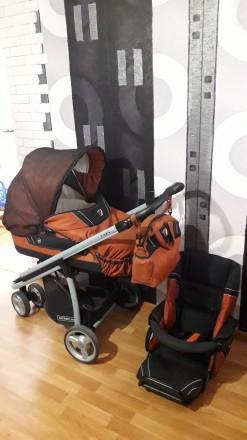 Продам коляску Bebecar icon 2 в 1. Вараш (Кузнецовск). фото 1