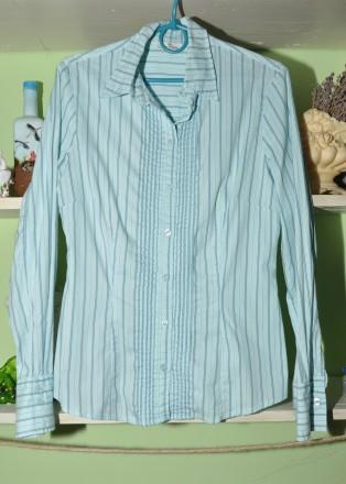 Красивая рубашка Tom Tailor. 36р. Черновцы. фото 1