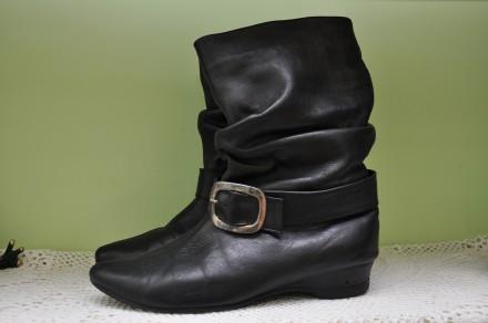 Качественные кожаные полусапожки 38р. Черновцы. фото 1