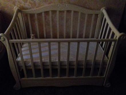 Кроватка для новорожденного от 0 до 3-ч лет. Киев. фото 1