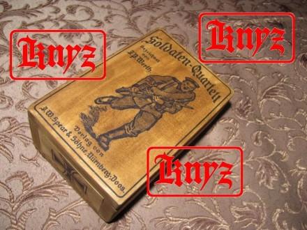 Футляр для игральных карт Германия,Пмв,вариант №1. Умань. фото 1
