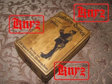 Футляр для игральных карт Германия,Пмв,вариант №2. Умань. фото 1