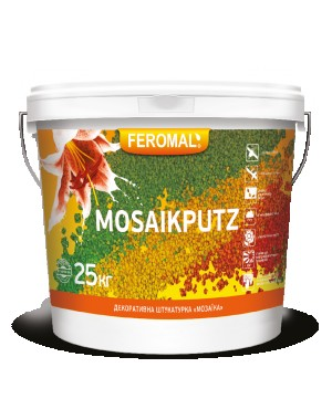 Штукатурка мозаичная Феромал 33 Мosaikputz 25 кг. Київ. фото 1