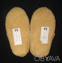Пинетки-туфельки 100% натуральные: верх - замша, внутри шерсть. Очень теплые, мя. Сумы, Сумская область. фото 3