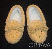 Пинетки-туфельки замша на меху Новые. Сумы. фото 1
