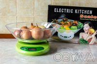 Кухонные электронные весы EK01 до 5 кг.. Одесса. фото 1