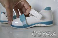 Туфли для Вашей принцессы ТМ B&G. Белые с рисунком. Материал верха- искусственна. Сумы, Сумская область. фото 8