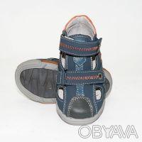 Босоножки для мальчика с закрытым носком от ТМ B&G. Застегивается двумя застежка. Сумы, Сумская область. фото 6