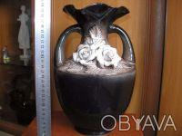 Ваза керамика СССР. Львов. фото 1