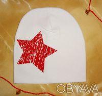 Трикотажная шапочка, двойная. 100 % хлопок. Высота 20,5 см Ширина 19 см Подо. Белая Церковь, Киевская область. фото 8